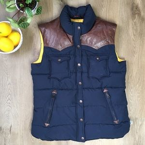 Penfield Down Filled Puffer Vest sz L